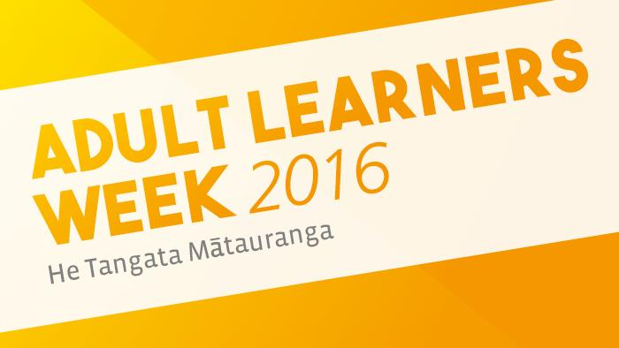 Adult Learners Week 2016