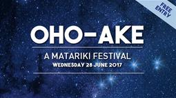 A graphic banner for UCOL's Matariki event 2017