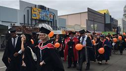 Palmerston North Graduation Broadway Ave