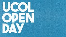 A graphic promoting UCOL's Open Day