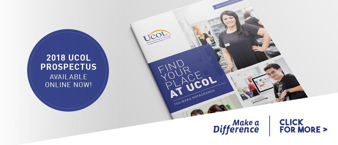 See UCOL's 2018 prospectus
