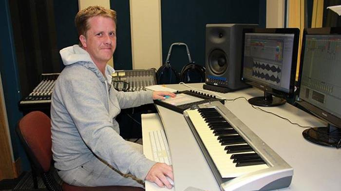 UCOL lecturer Graham Johnston with new Ableton gear