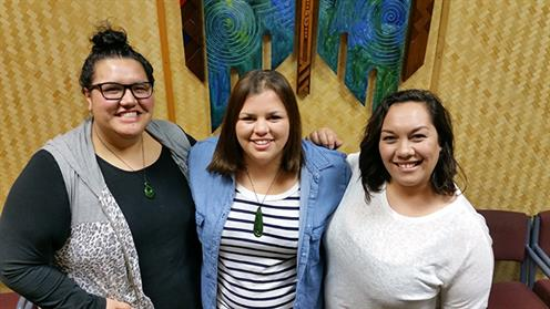 UCOL Nursing students/Māori Health scholarship recipients