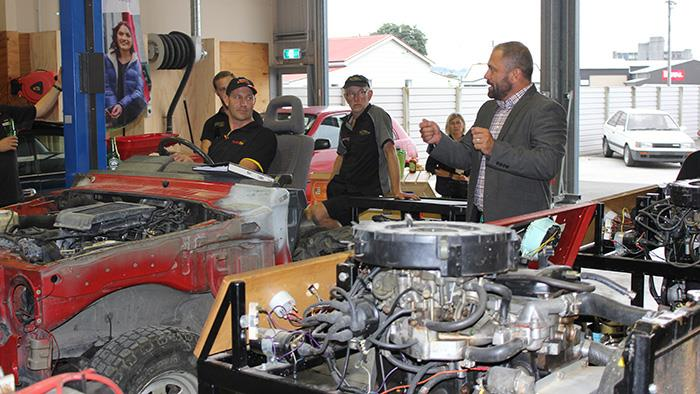 Whanganui UCOL's automotive workshop