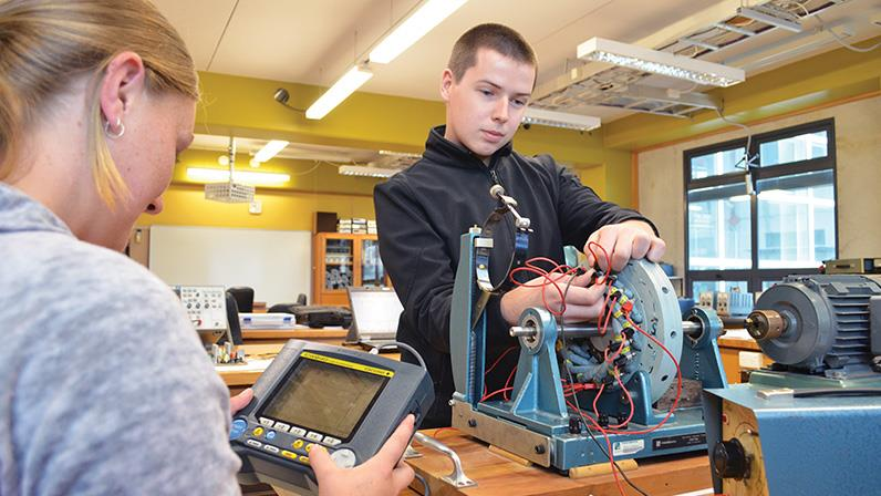 Electrical students learning at our Palmerston North Campus