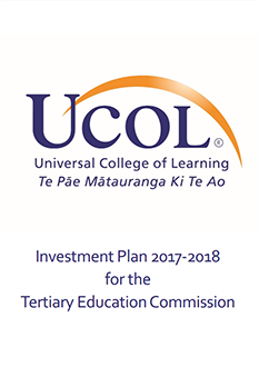 UCOL Investment Plan 2017-2018
