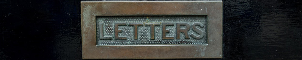 A photograph of a letter box