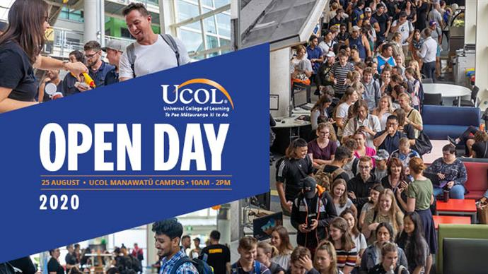 UCOLl Manawatū Open Day
