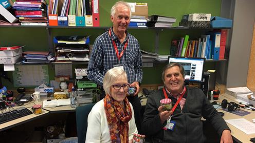 Whanganui Campus staff celebrating  World Teachers' Day