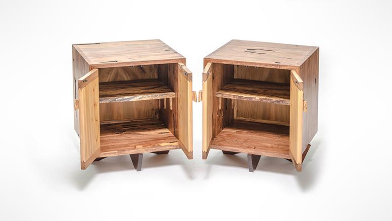 diploma in furniture design and making cabinets designed and created by a ucol student