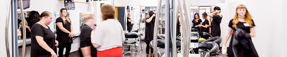 UCOL's hairdressing salon in Palmerston North