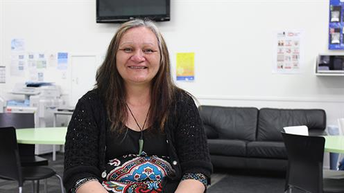 A portrait of UCOL business graduate and Bachelor of Social Work student Lena Matiaha